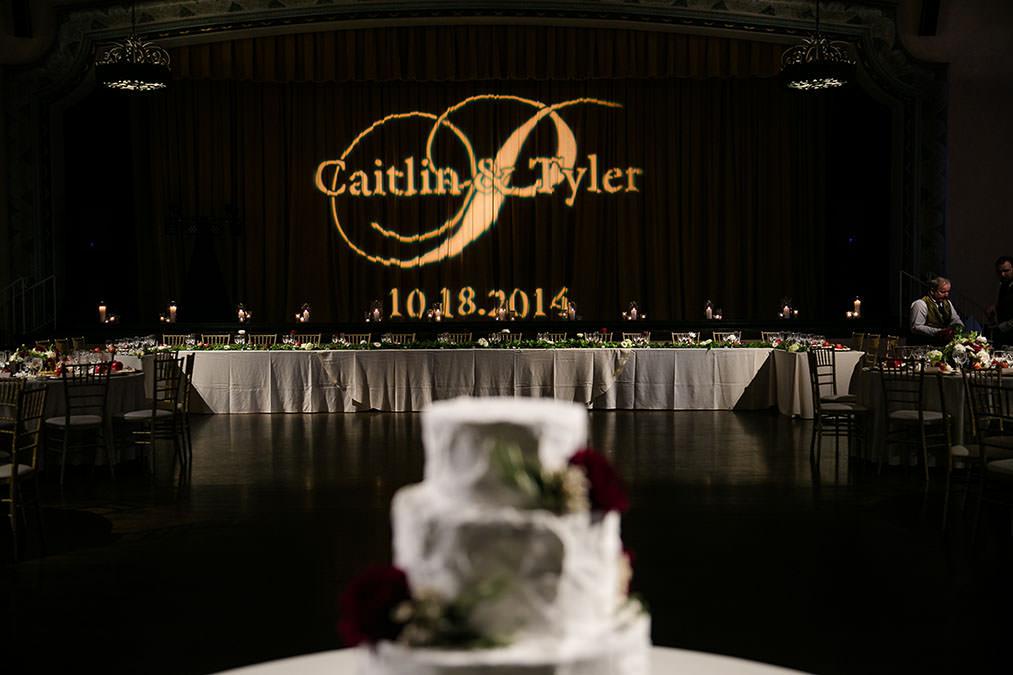 Rent gobo for wedding