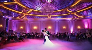 Unforgettable First Dance With Low Fog