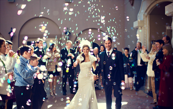 10 Great Wedding Send-Off Ideas And Their Cost