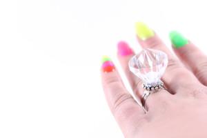 plastic wedding ring