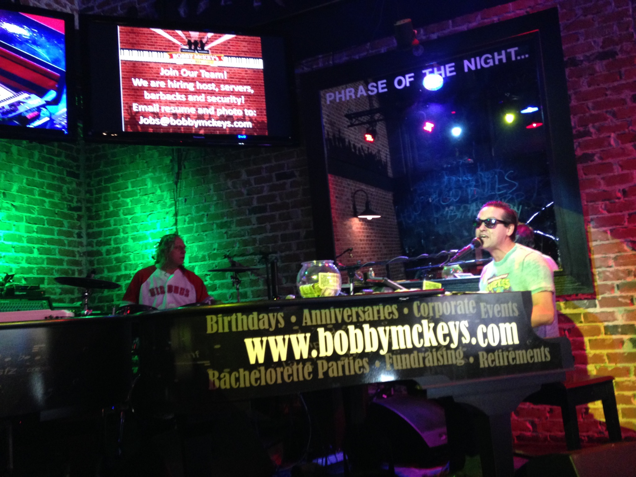 Bobby McKey's Dueling Pianos