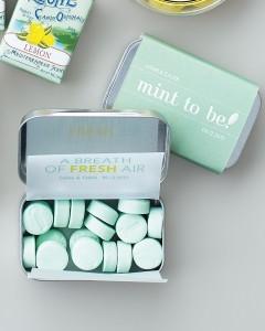 wedding favor breath mints