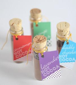 wedding favor cocoa