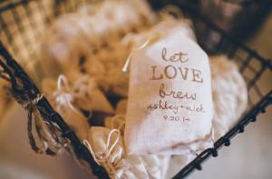 wedding favor coffee