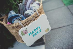 wedding favor flip flops