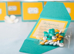 wedding favor m and ms
