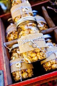 wedding favor mason jars