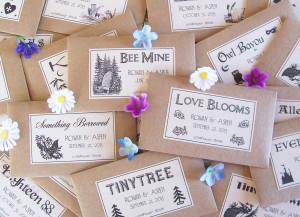 wedding favor seeds